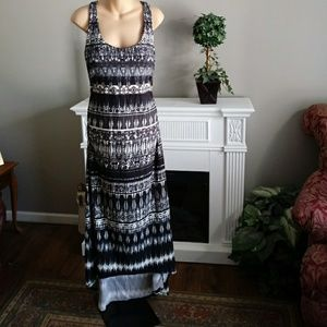 Athleta Racer Back Maxi Dress Sz XL